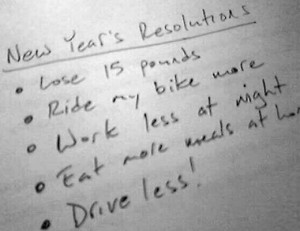 How to Accomplish Your New Years Resolutions